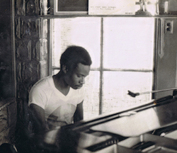 David Sancious playing piano