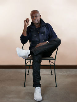 David Sancious sitting in chair