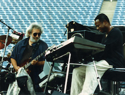 David Sancious playing keyboards with Jerry Sancious
