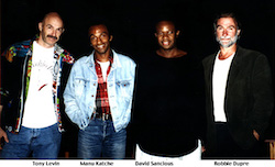 David Sancious with the Levin Group