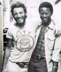 David Sancious and Bruce Springsteen